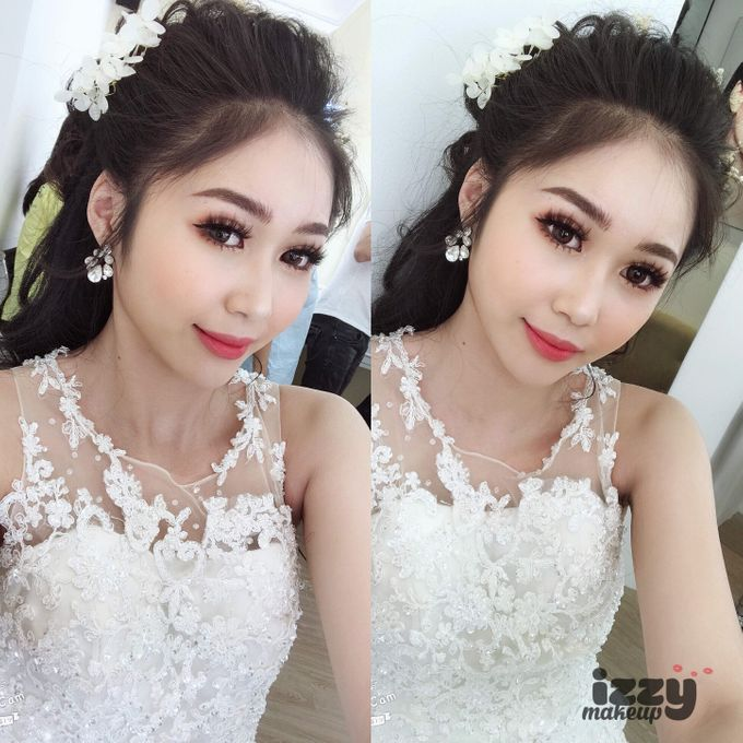 Bridal Before And After Makeup Look by Izzy Makeup Artistry - 003