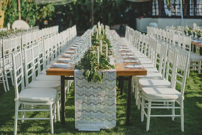Backyard Jewish Wedding by Flora Botanica Designs - 015