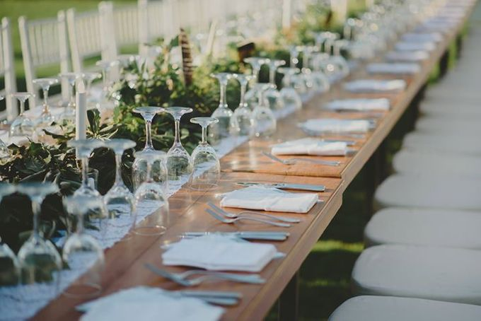 Backyard Jewish Wedding by Flora Botanica Designs - 016
