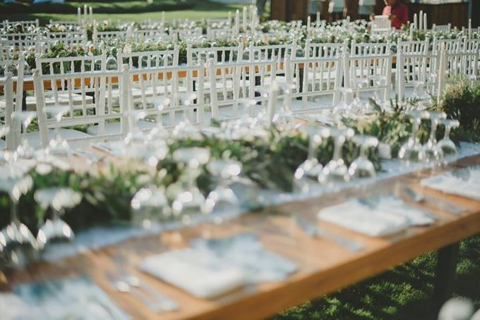 Backyard Jewish Wedding by Flora Botanica Designs - 012