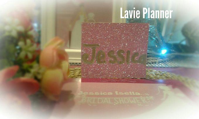 Bridal shower table decor by Lavie Planner - 001