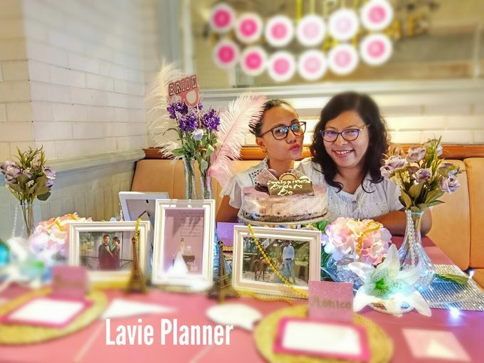 Bridal shower table decor by Lavie Planner - 005