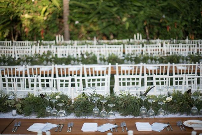 Backyard Jewish Wedding by Flora Botanica Designs - 021