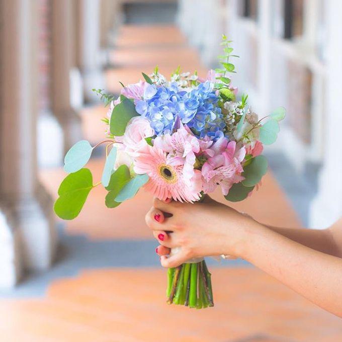 Pantone 2016 - Rose Quartz & Serenity by Liz Florals - 004