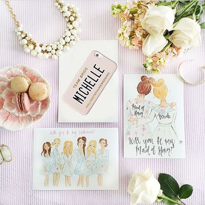 Custom Phone Case Gift by dydx Bride - 004