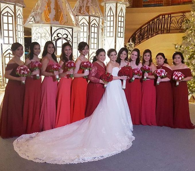 Customized Bridesmaids Dresses by White Label Bridal - 011