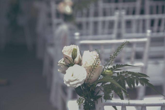Solemnization / Reception Table / Wedding Venue Decoration by Petite Fleur SG - 026