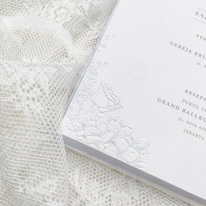 hydrangea dusty blue invitation by Blooming Elise Flowers - 001