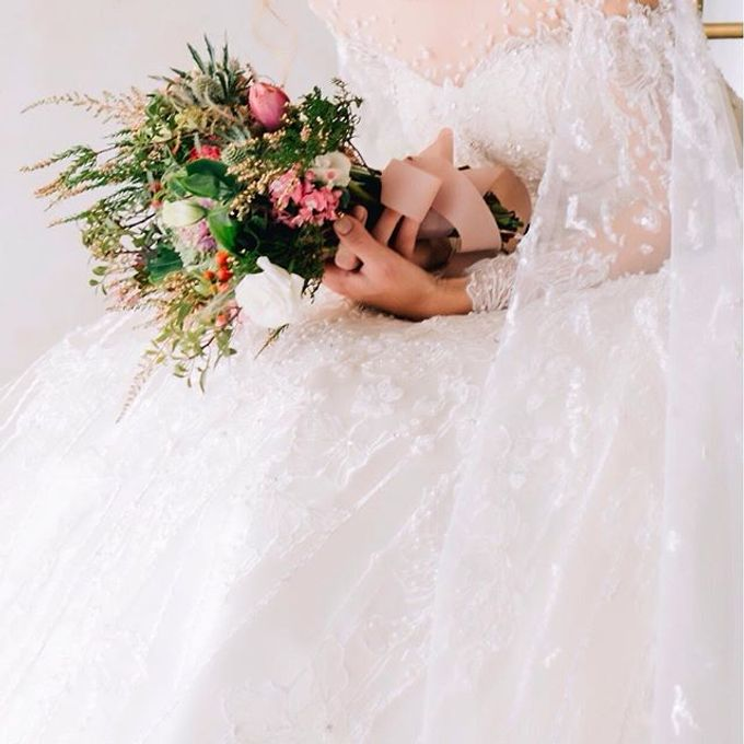 Bride Bouquet by Angie Fior - 044