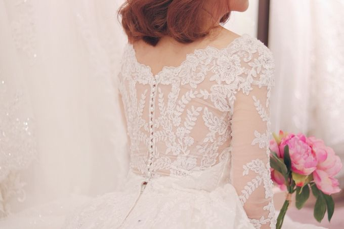In search of the dream wedding gown by Cang Ai Wedding - 004