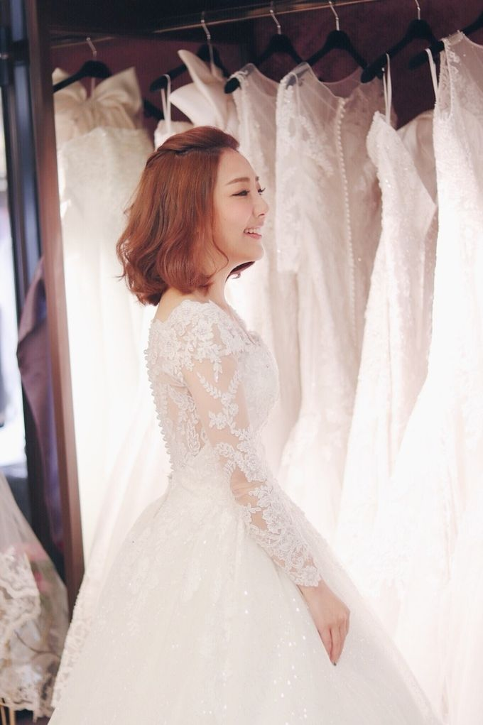 In search of the dream wedding gown by Cang Ai Wedding - 008