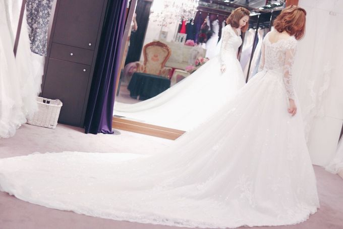 In search of the dream wedding gown by Cang Ai Wedding - 007