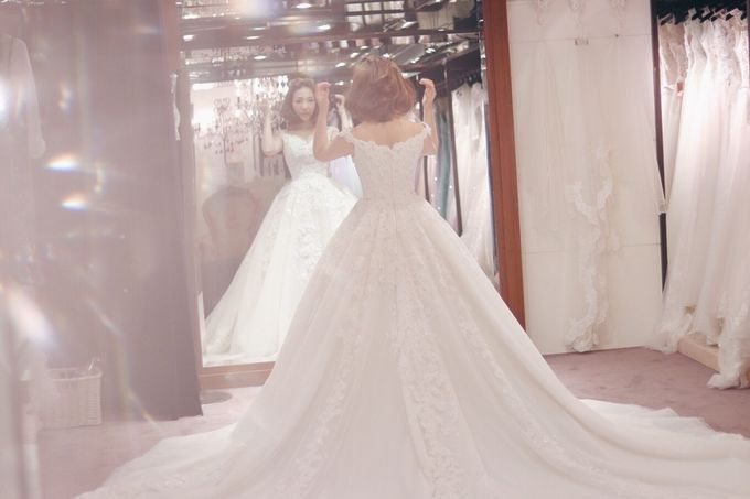 In search of the dream wedding gown by Cang Ai Wedding - 011