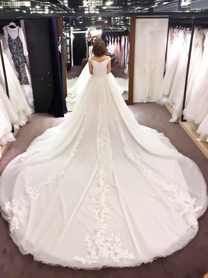 In search of the dream wedding gown by Cang Ai Wedding - 013