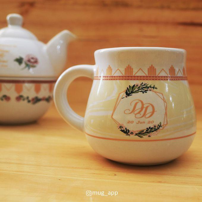THE WEDDING OF DIANI & DONI by Mug-App Wedding Souvenir - 010