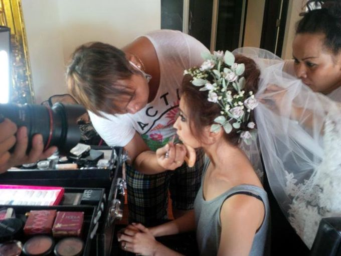 wedding sarah - daniel by paul make up artist - 002