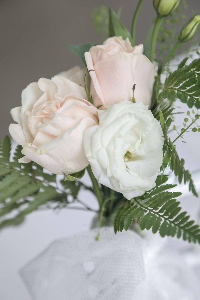 Solemnization / Reception Table / Wedding Venue Decoration by Petite Fleur SG - 023