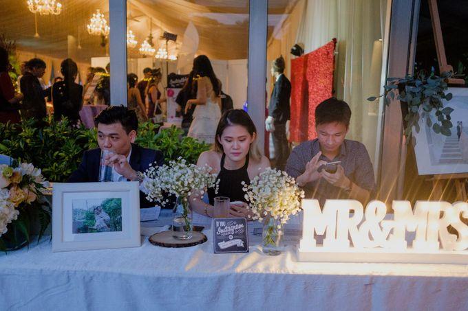 Solemnization / Reception Table / Wedding Venue Decoration by Petite Fleur SG - 028