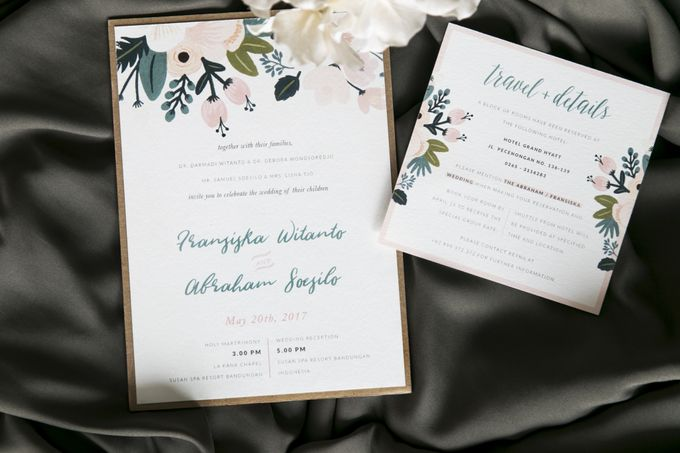 Fransiska & Abraham (Rustic) by Letterspace Inc. - 004
