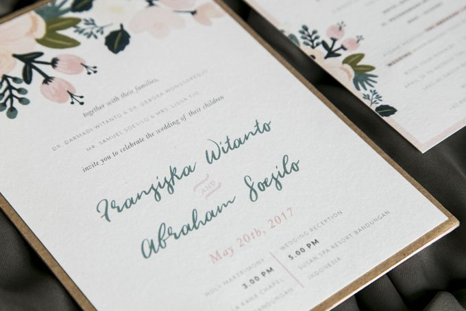 Fransiska & Abraham (Rustic) by Letterspace Inc. - 002