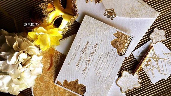 'The White Gatsby' Invitation by PurityCard - 005