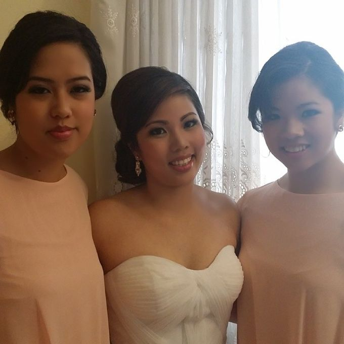 Bridal party makeup by Elly Liana Makeup Artist - 010