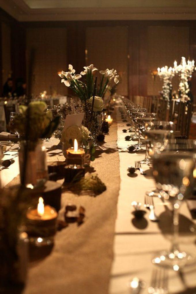 White Vintage Charm by Tea Rose Wedding Designer - 012