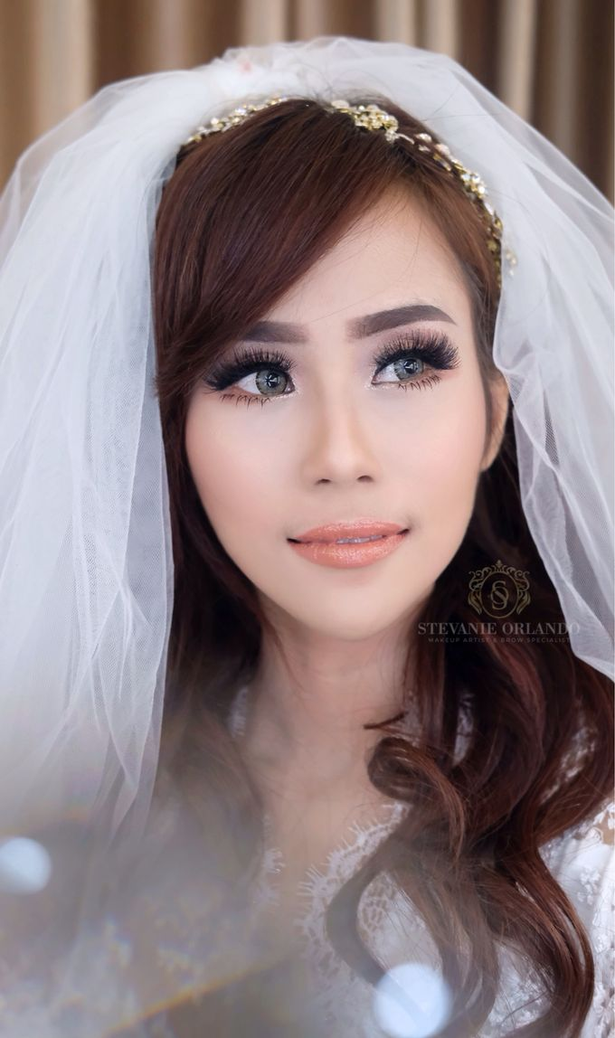 Fresh Wedding Makeup Looks For Ms Laurensia By Stevorlando