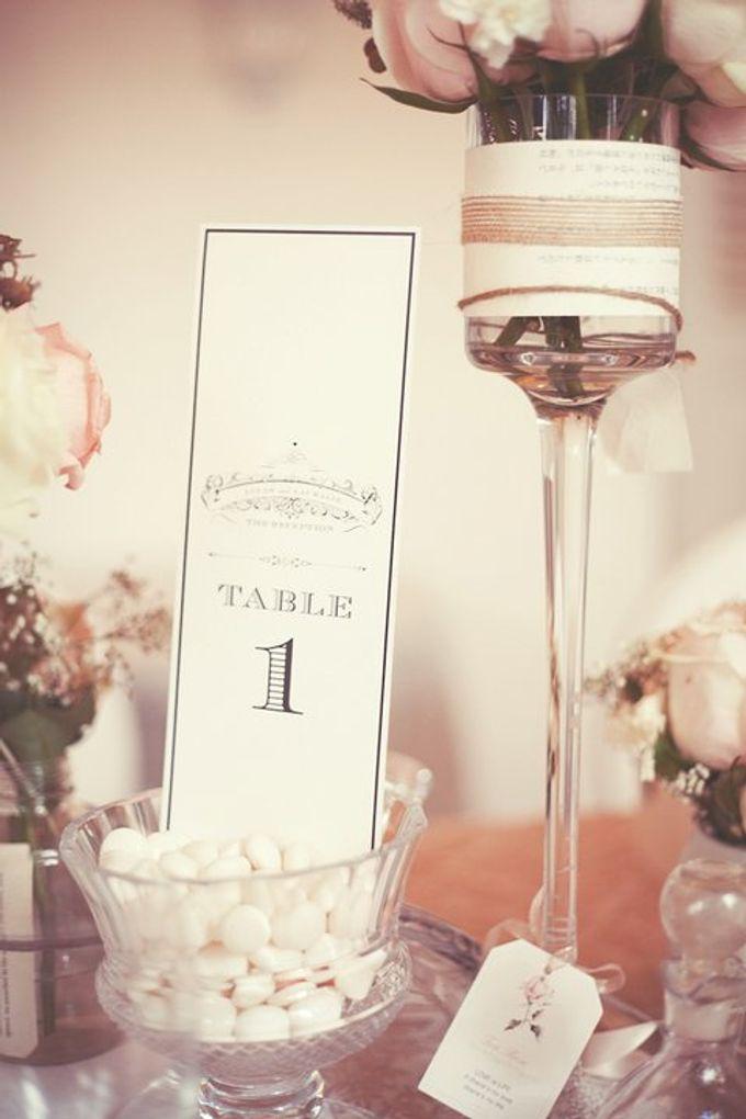 a beautiful dream by Tea Rose Wedding Designer - 005