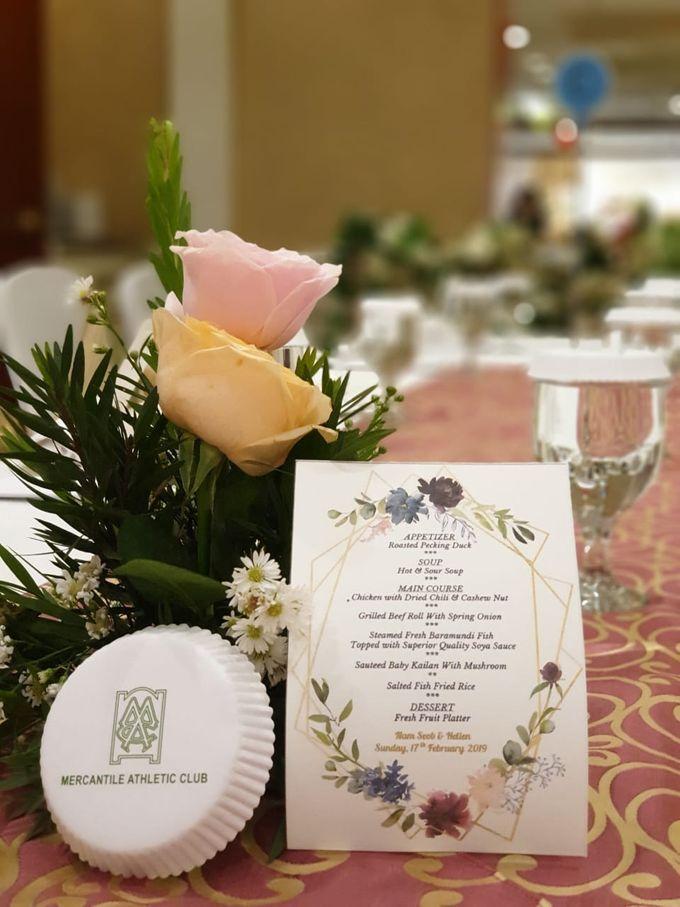 The Wedding Of Nam Seob & Hellen by MERCANTILE PENTHOUSE WEDDING - 010