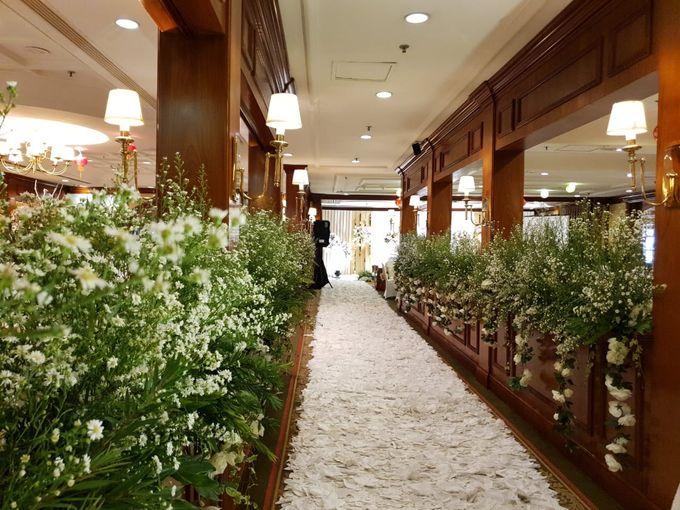 The Wedding Of Nam Seob & Hellen by MERCANTILE PENTHOUSE WEDDING - 011