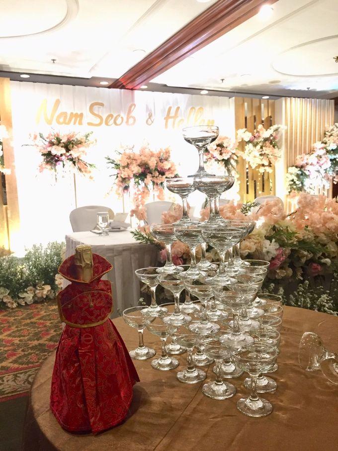 The Wedding Of Nam Seob & Hellen by MERCANTILE PENTHOUSE WEDDING - 013
