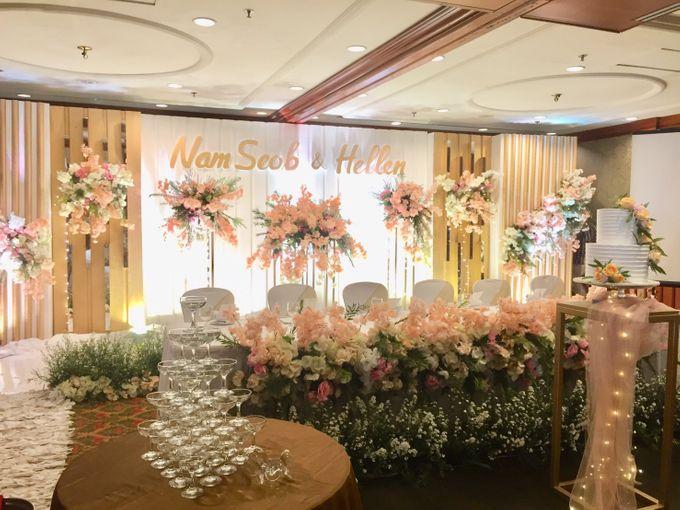 The Wedding Of Nam Seob & Hellen by MERCANTILE PENTHOUSE WEDDING - 012