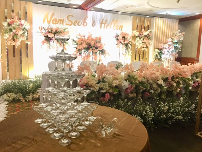 The Wedding Of Nam Seob & Hellen by MERCANTILE PENTHOUSE WEDDING - 018