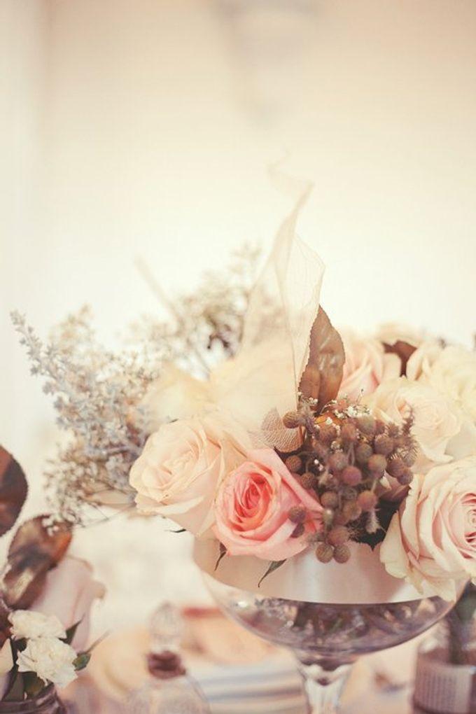 a beautiful dream by Tea Rose Wedding Designer - 010