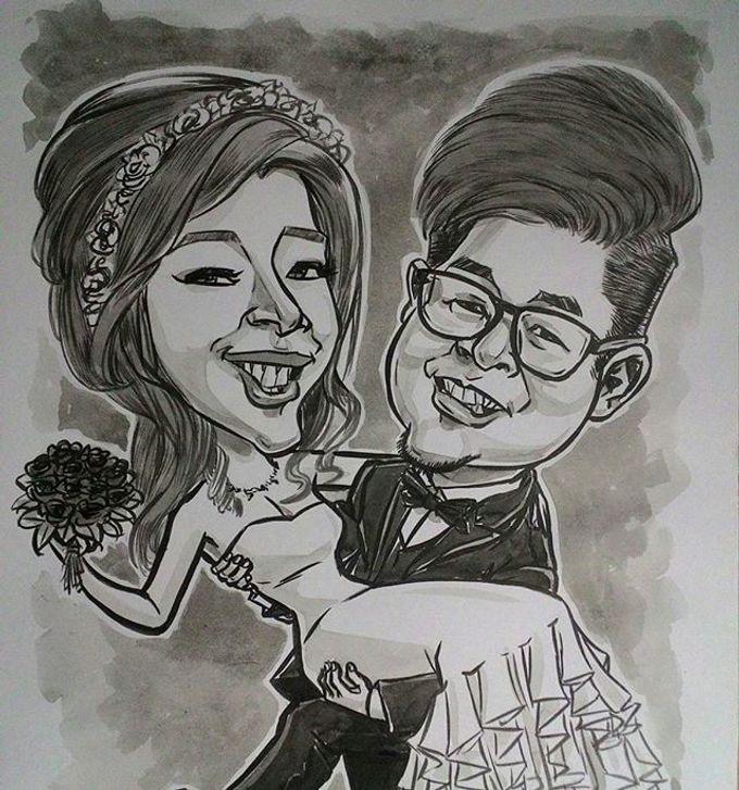 Wedding Souvenir by Bali Karikatur - 007