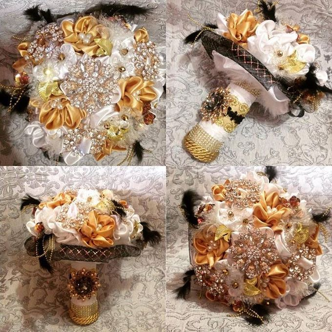 Handcrafted Bouquets and Wedding Accessories  by Duane's Fleur Creatif - 014