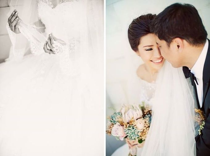 Indah & Robin Cultural Bali Wedding by Flying Bride - 012