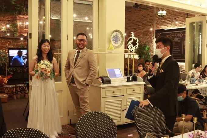 MC Wedding Intimate at Blue Jasmine Jakarta - Anthony Stevven by Anthony Stevven - 027