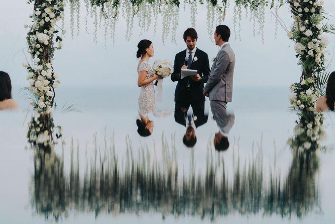 CA & Sebastian Wedding by THE UNGASAN CLIFFTOP RESORT BALI - 002