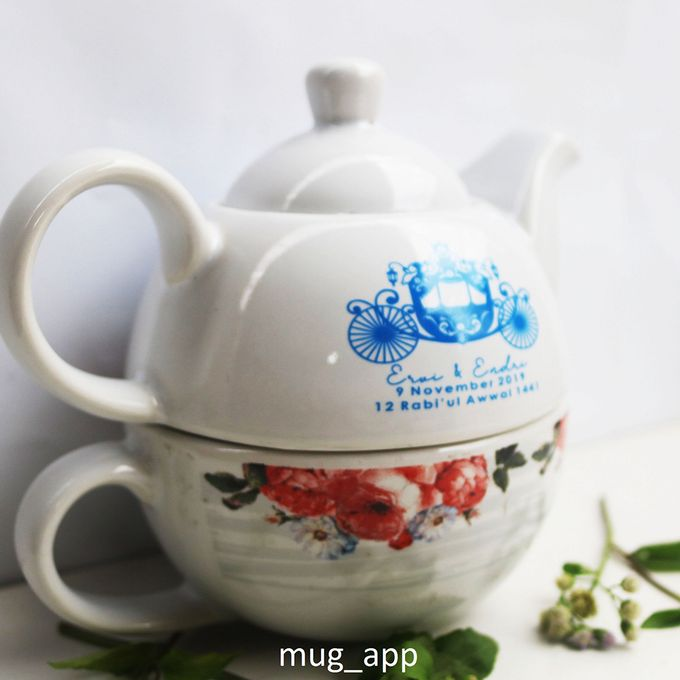 TEKO SUSUN WEDDING ERVI & ENDRI by Mug-App Wedding Souvenir - 002