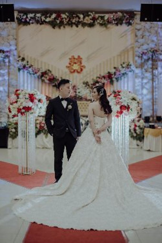 The Wedding Of Fransisca & Edi by Favor Brides - 015