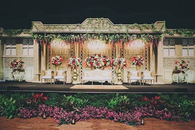 XXI Ballroom -  Mandailing Wedding Reception of Iman & Dira by Dikaderadjat - 004