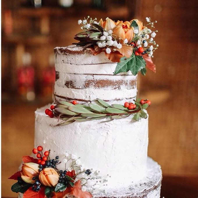 Flowers on Cake by Angie Fior - 013