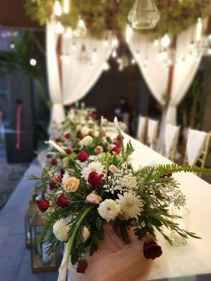 ANDRI & DEVRI WEDDING by Alindra Villa - 003