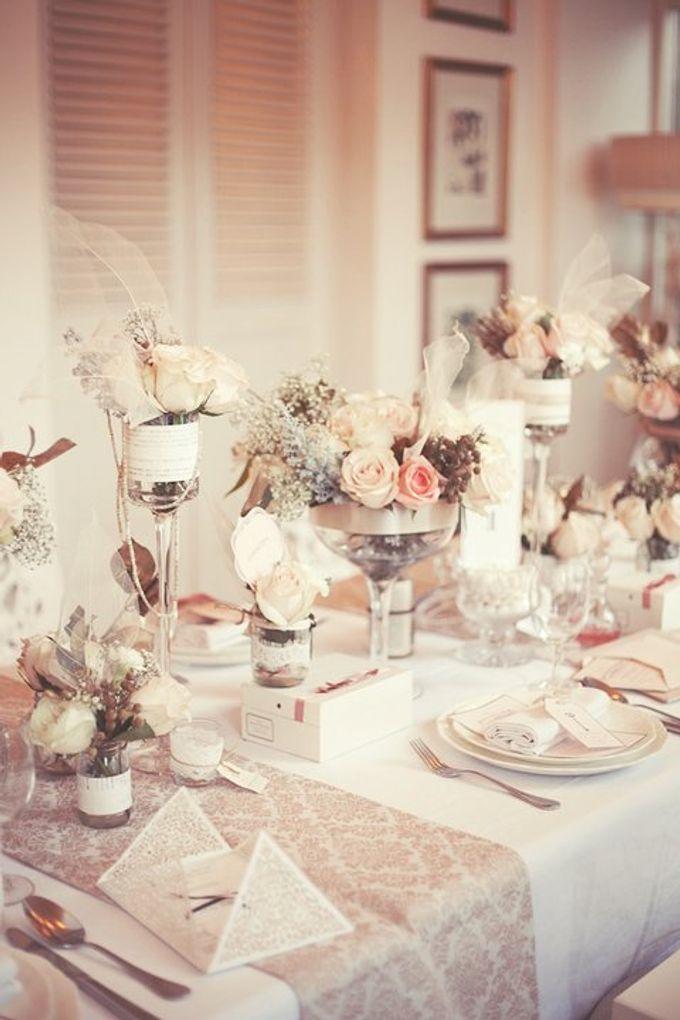 a beautiful dream by Tea Rose Wedding Designer - 003