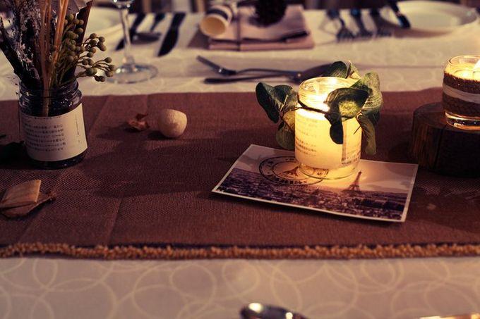 White Vintage Charm by Tea Rose Wedding Designer - 006