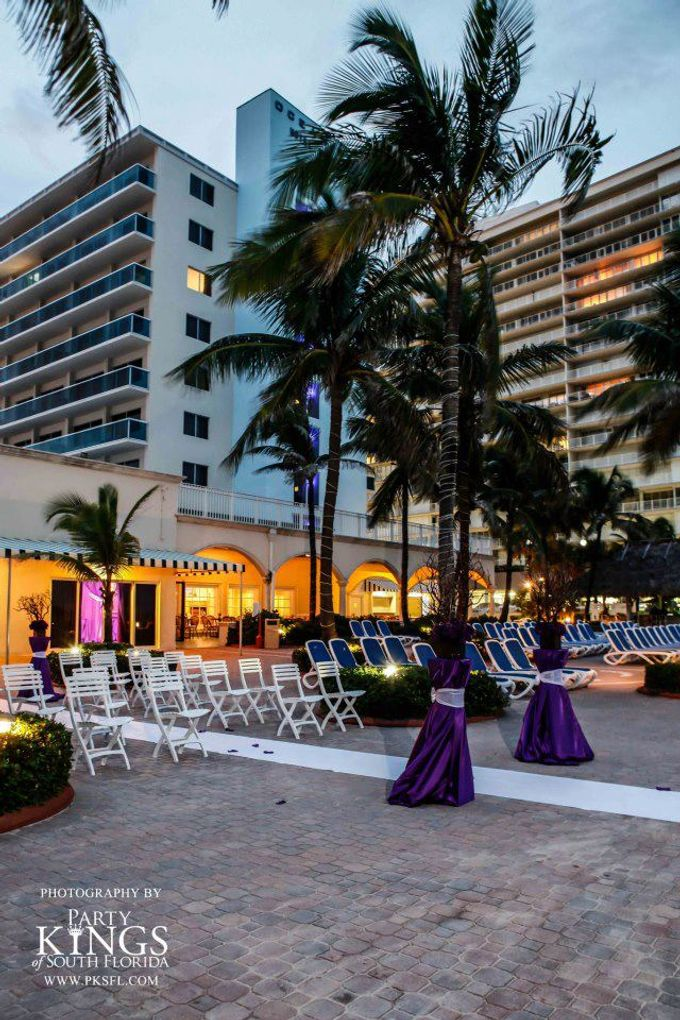 Outdoor Wedding Set up by Ocean Sky Hotel & Resort - 002