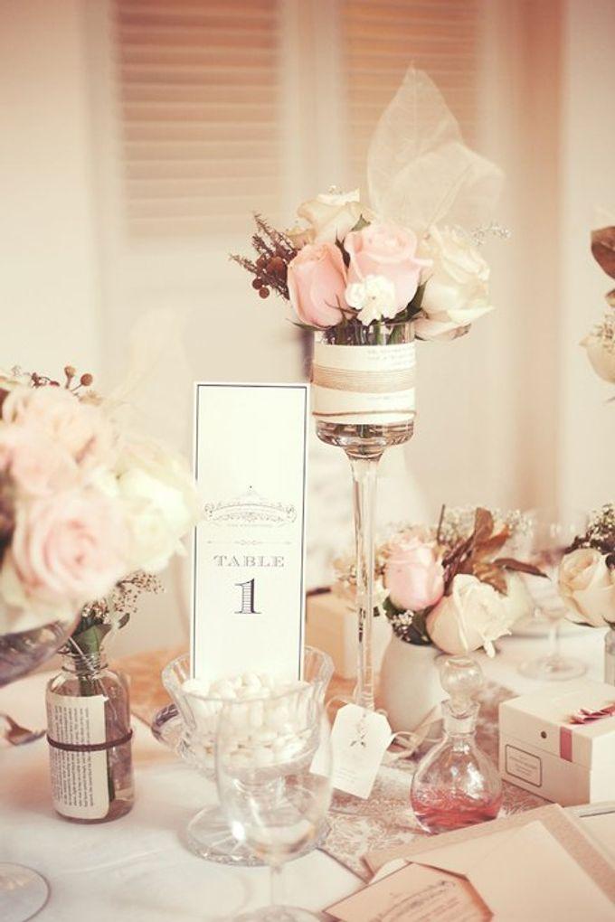 a beautiful dream by Tea Rose Wedding Designer - 004