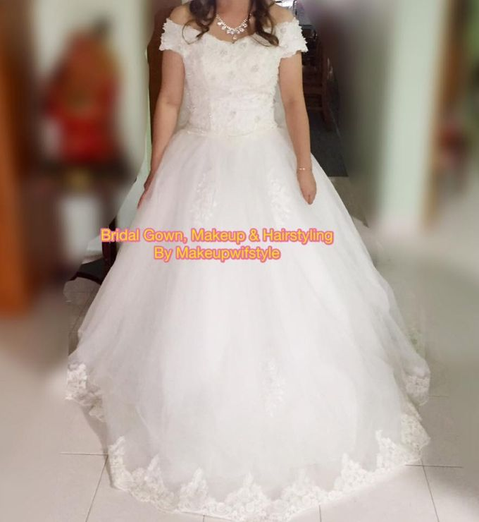 Beautiful Bridal Gowns by Makeupwifstyle - 004